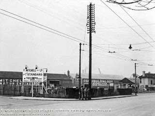 F Mitchells, Derby Road March 1949