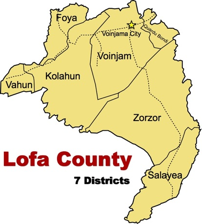 Image result for lofa county