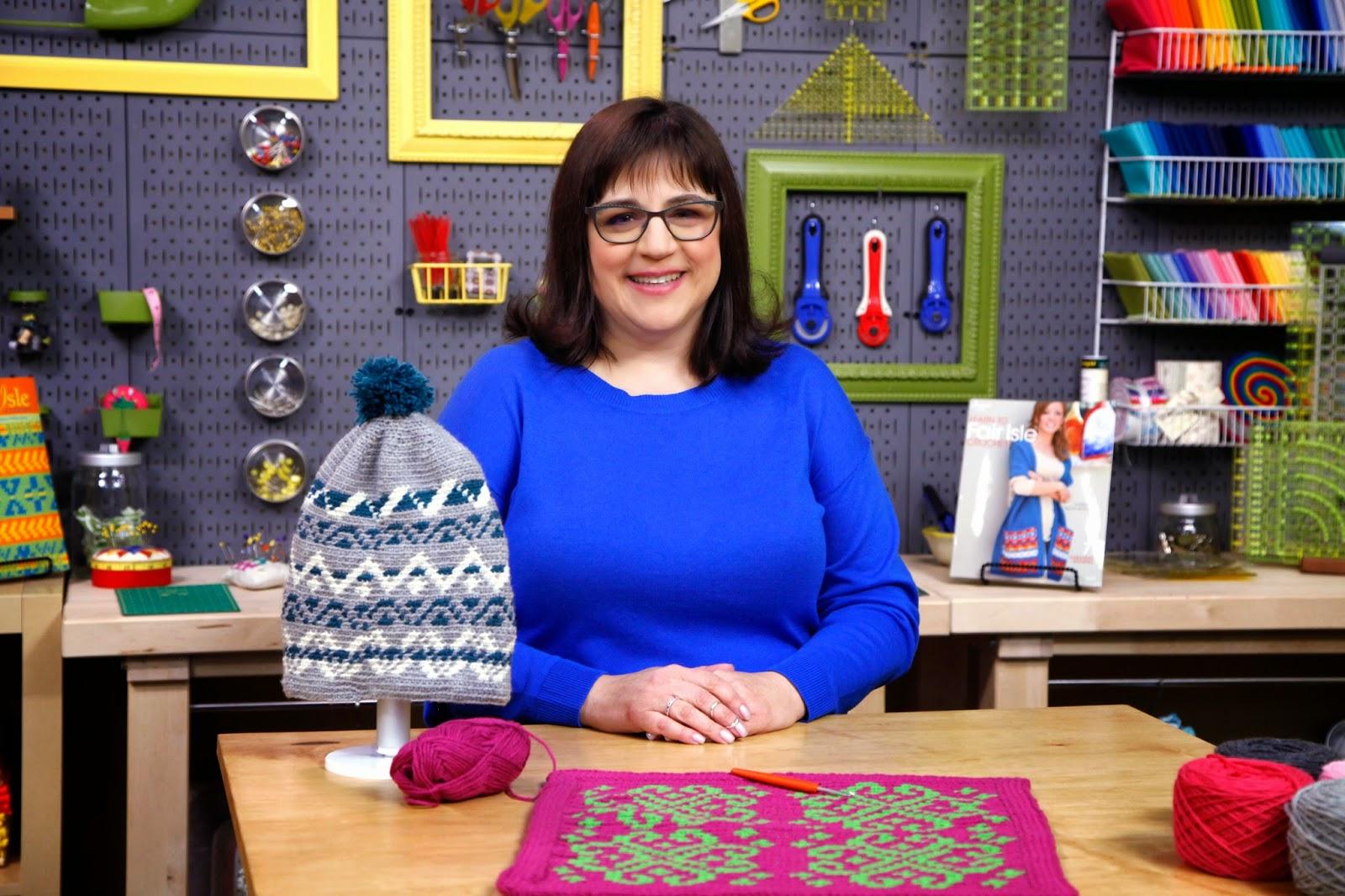 Craftsy Fair Isle crochet class