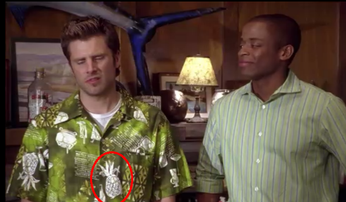 Psych pineapple season 6 episode 16 : Csi miami season 4