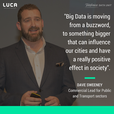 #LanzamosLUCA: Dave Sweeney on using Mobile Data to disrupt Transport and Tourism