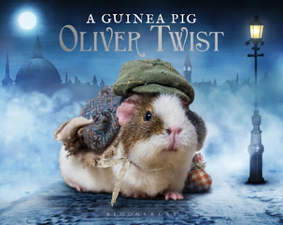 Book Cover of a Guinea Pig Oliver Twist Bloomsbury