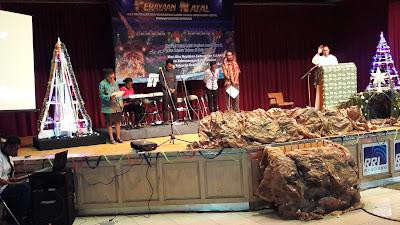 Mahasiswa Papua di Bandung, Rayakan Natal Ipmanapandode