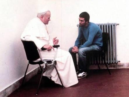 محمد علي أغا والبابا يوحنا بولس الثاني
