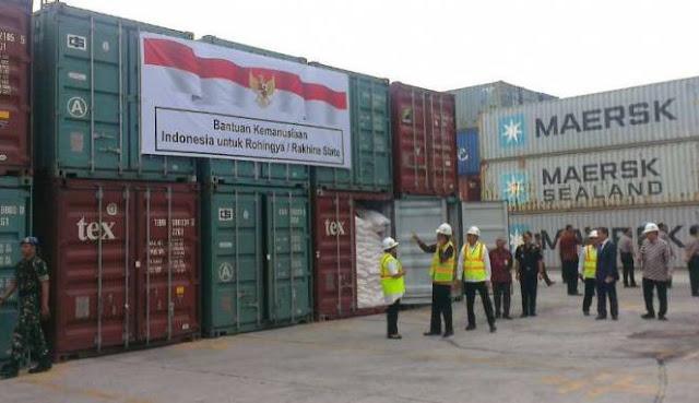 Presiden Jokowi Hantar Keberangkatan Bantuan RI Untuk Rohingya