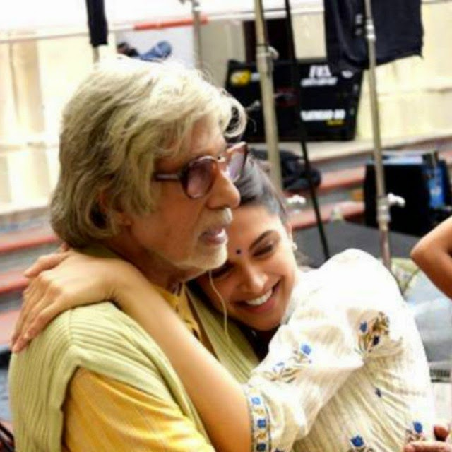 deepika padukone , amitabh bachchan , piku , i heart deepika ,, Deepika Padukone Piku Movie On Location Pics with Amitabh Bachchan