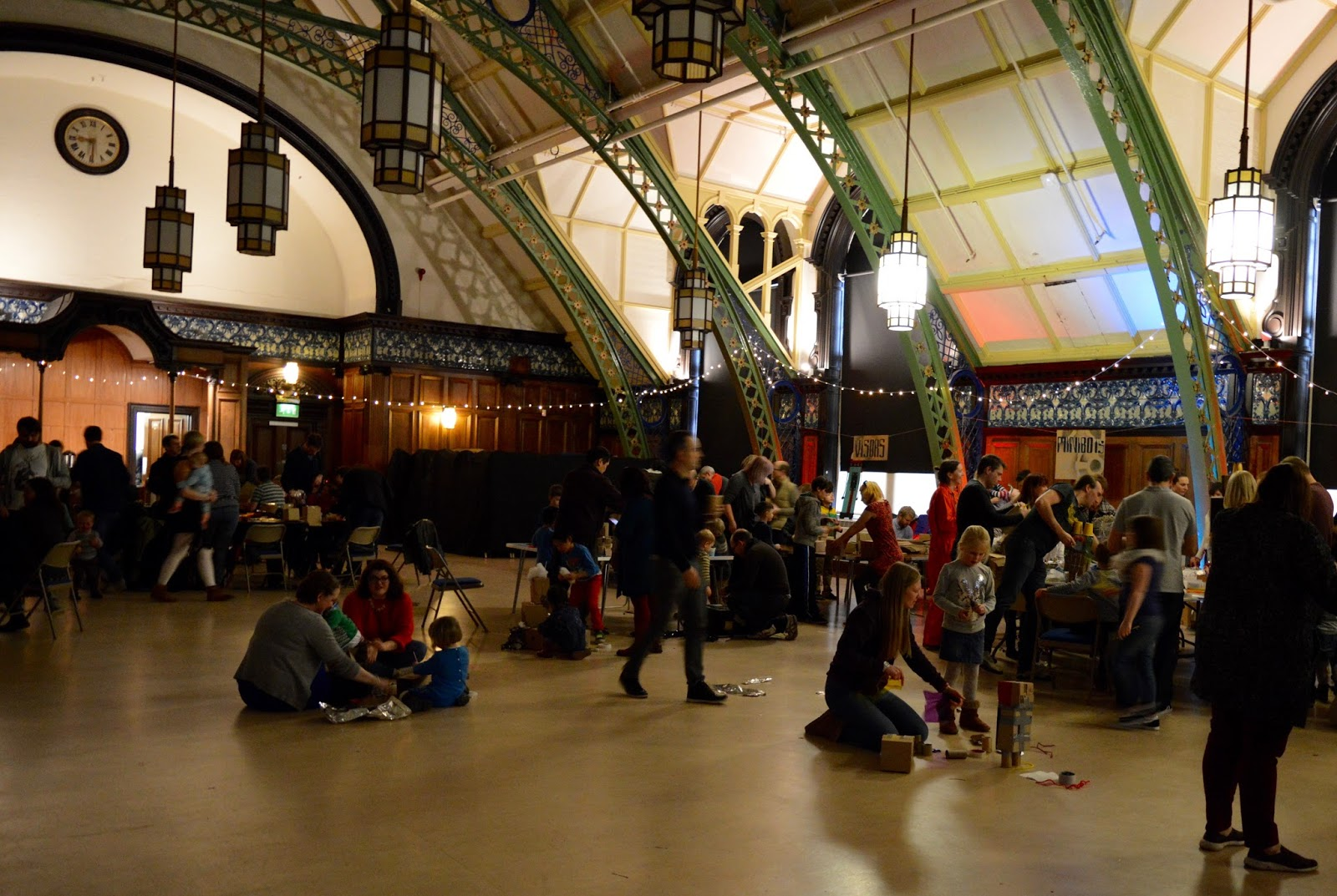 Discovery Museum Newcastle | Play + Invent Events | A Review | The Great Hall