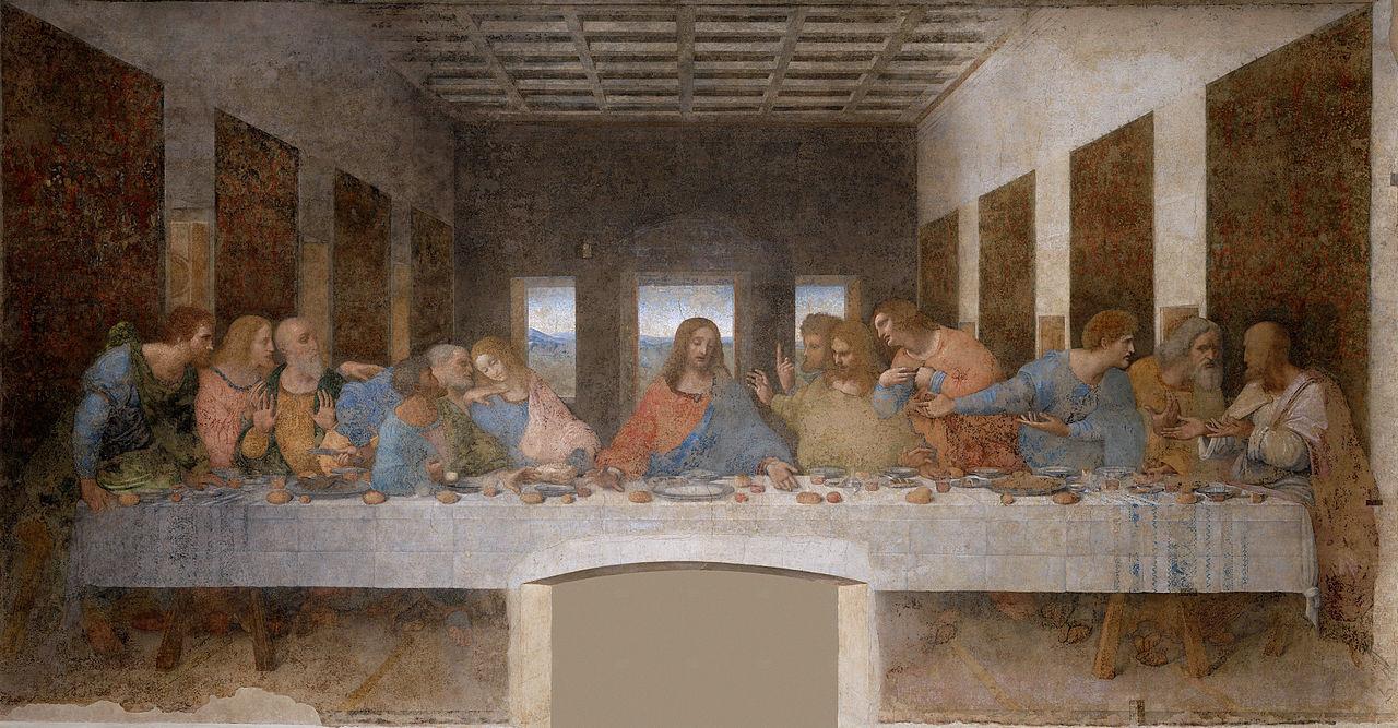 A Última Ceia - Pinturas com temas tirado da bíblia
