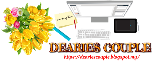 Dearie's Couple Story: MINI STATIONERY GIVEAWAY BY MIRZA SYAZWINA