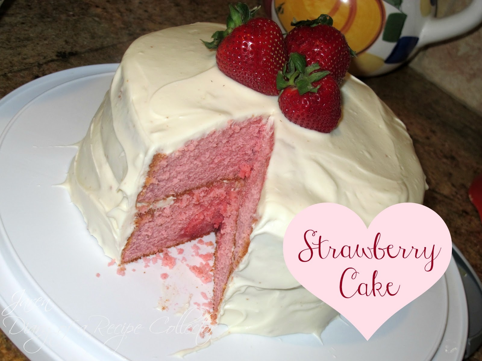 Chocolate Strawberry Jello Cake Recipe: Diary Of A Recipe Collector