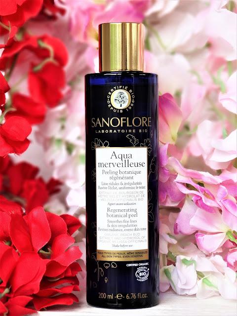 avis aqua merveilleuse sanoflore, soin anti age bio, peeling botanique, peeling merveilleuse sanoflore, peeling visage naturel