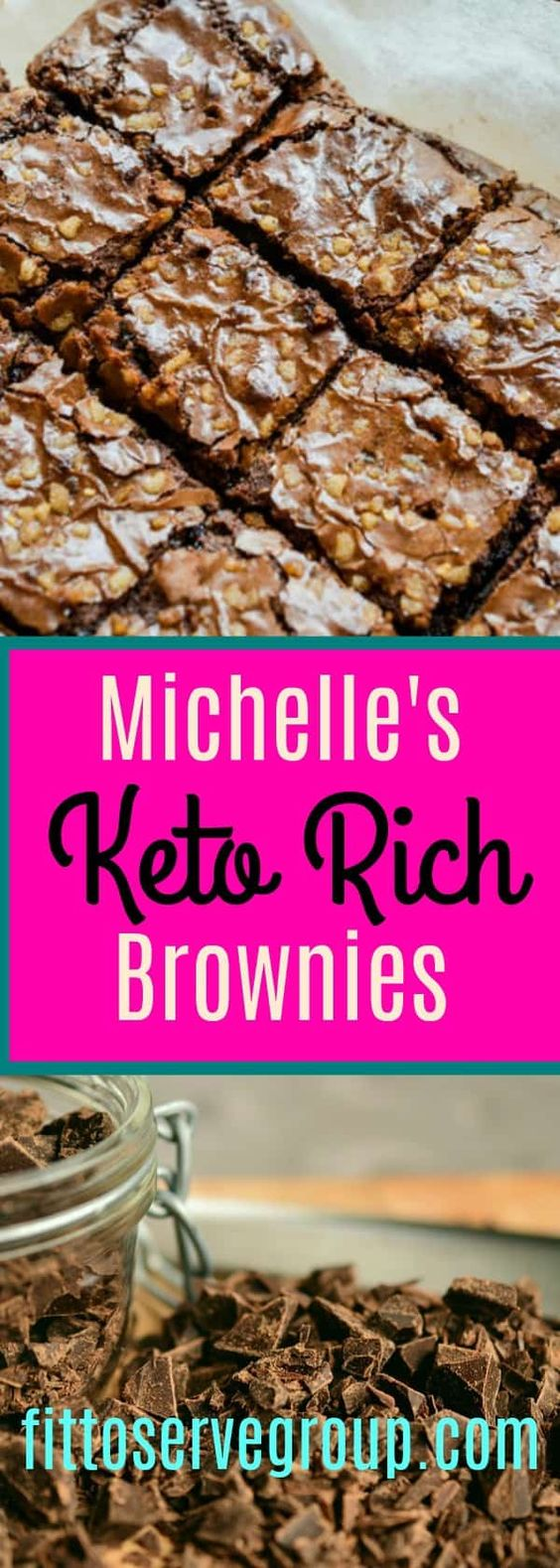 Michelle's Rich Keto Brownies