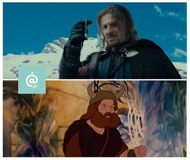 Boromir - El Señor de los Anillos: Peter Jackson Vs Ralph Bakshi / La Comunidad del Anillo - ÁlvaroGP - el fancine - el troblogdita