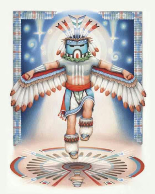 Blue%2BStar%2BKachina Hopi Prophecy : Blue Star Kachina