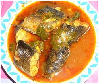 masakan padang ikan lele pedas
