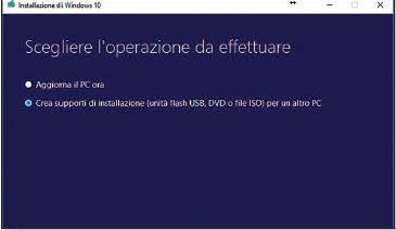 scaricare un'immagine in formato ISO di Windows 10