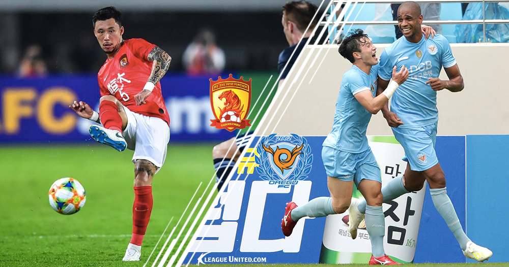 ACL Preview: Guangzhou Evergrande vs Daegu FC AFC Champions League Group F Matchday Six 6