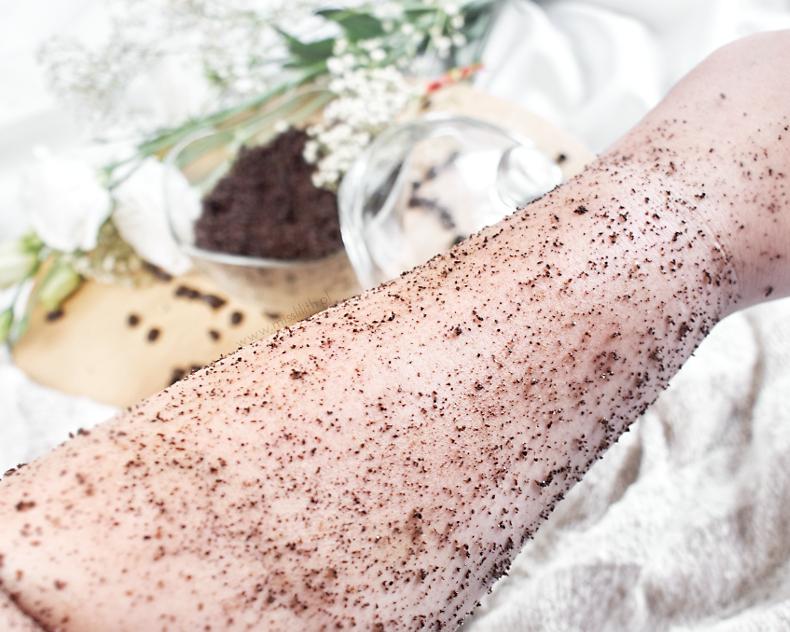 Domowy waniliowy peeling kawowy diy blog przepis