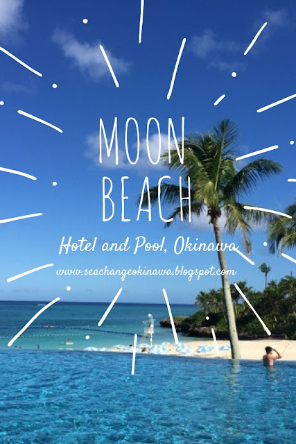 Moon Beach hotel in Onna, Okinawa is fantastic! IT's a little retro, but if you can't afford to stay the night, you can still just visit for the day and use their amazing pool and beach facilities.