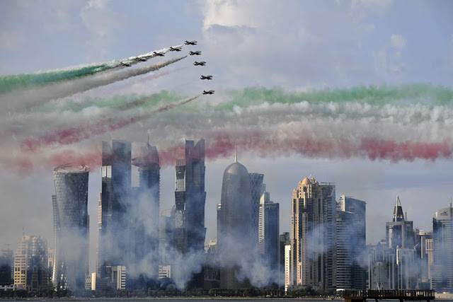 Frecce Tricolori international displays 2019