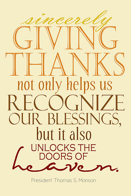 Giving Thanks Quotes And Sayings: Give Thanks Quotes About Life. QuotesGram