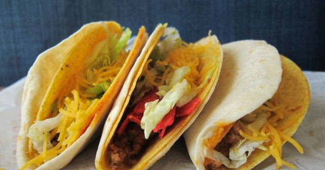 Review taco bell double stacked tacos brand eating for Taco bell fish tacos