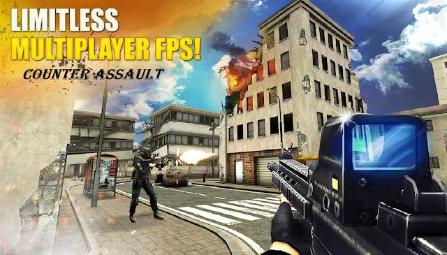 Download Counter Assault Online FPS Mod Apk Game