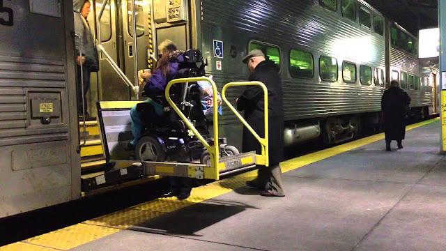 Deficientes físicos em Chicago
