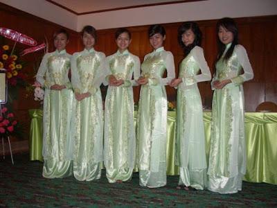 Les filles vietnamiennes