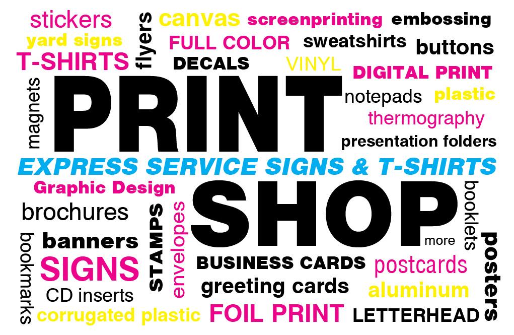 Signs Stickers Shirts In Cincinnati Were A Print Shop