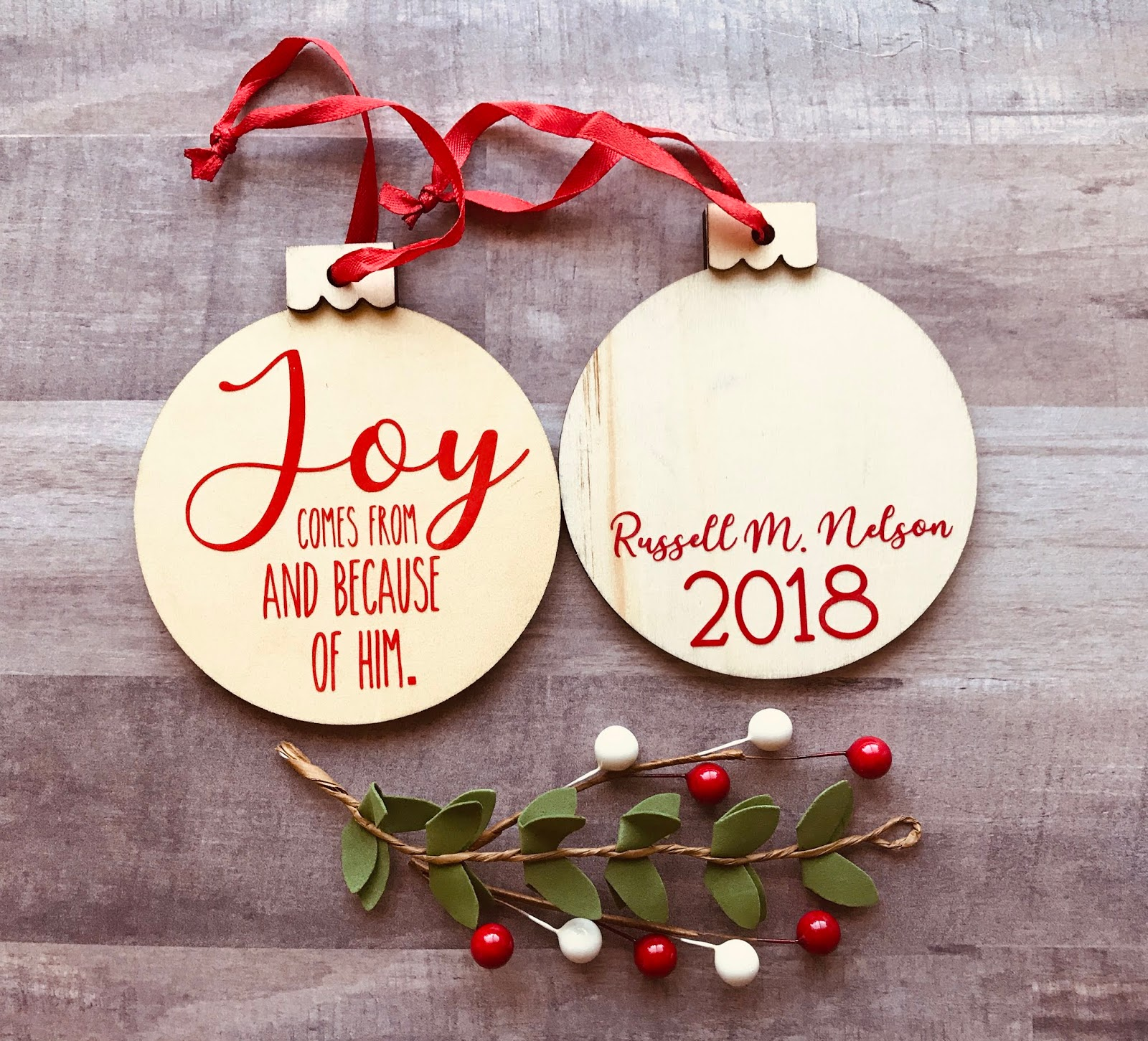 Marci Coombs More Rae Dunn Russell M Nelson Inspired Christmas