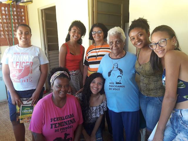 Quilombo de Pinhões - Projeto lança livro de autoria coletiva sobre as memórias vivas da comunidade