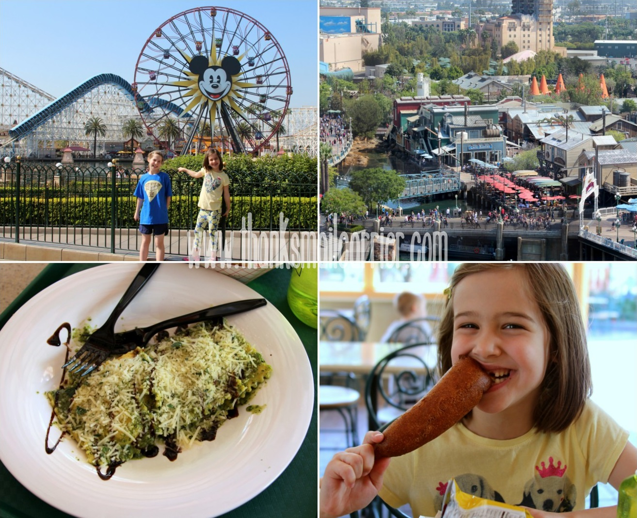 Disneyland Paradise Pier food