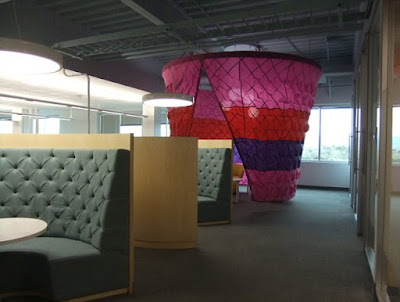 Serunya Kantor Google