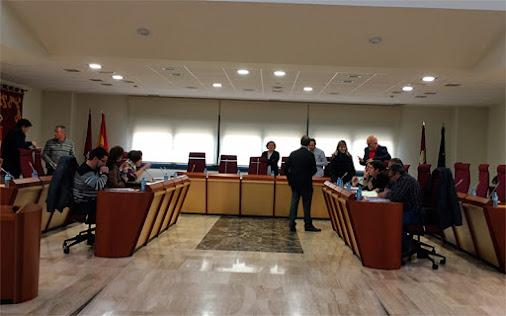sesion plenaria en el ayuntamiento de Illescas