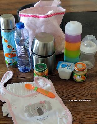 Facilita viagem de avião com bebê