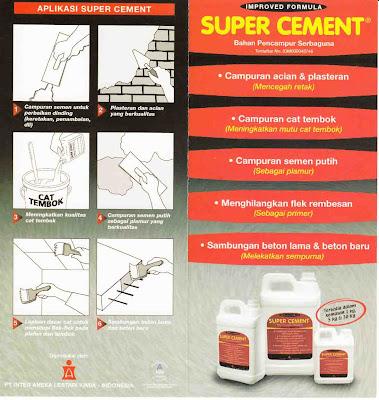 Bahan Pencampur SUPER CEMENT