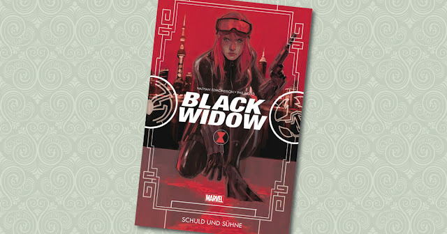 Black Widow Panini Cover