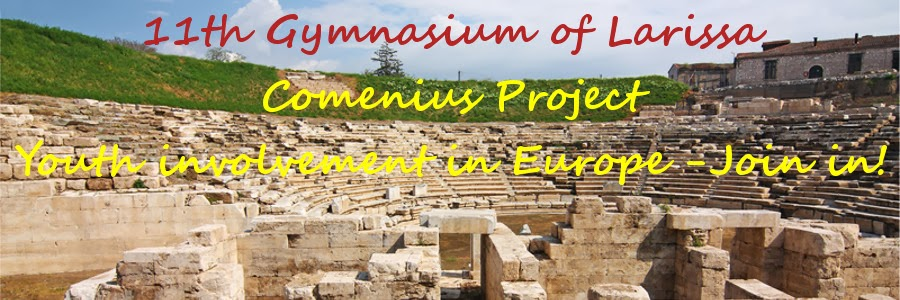 11th Gymnasium of Larissa - Comenius Project