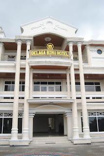 Hotel Delaga Biru bagian depan