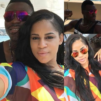 Iheoma Nnadi and fiance Emenike welcome baby girl