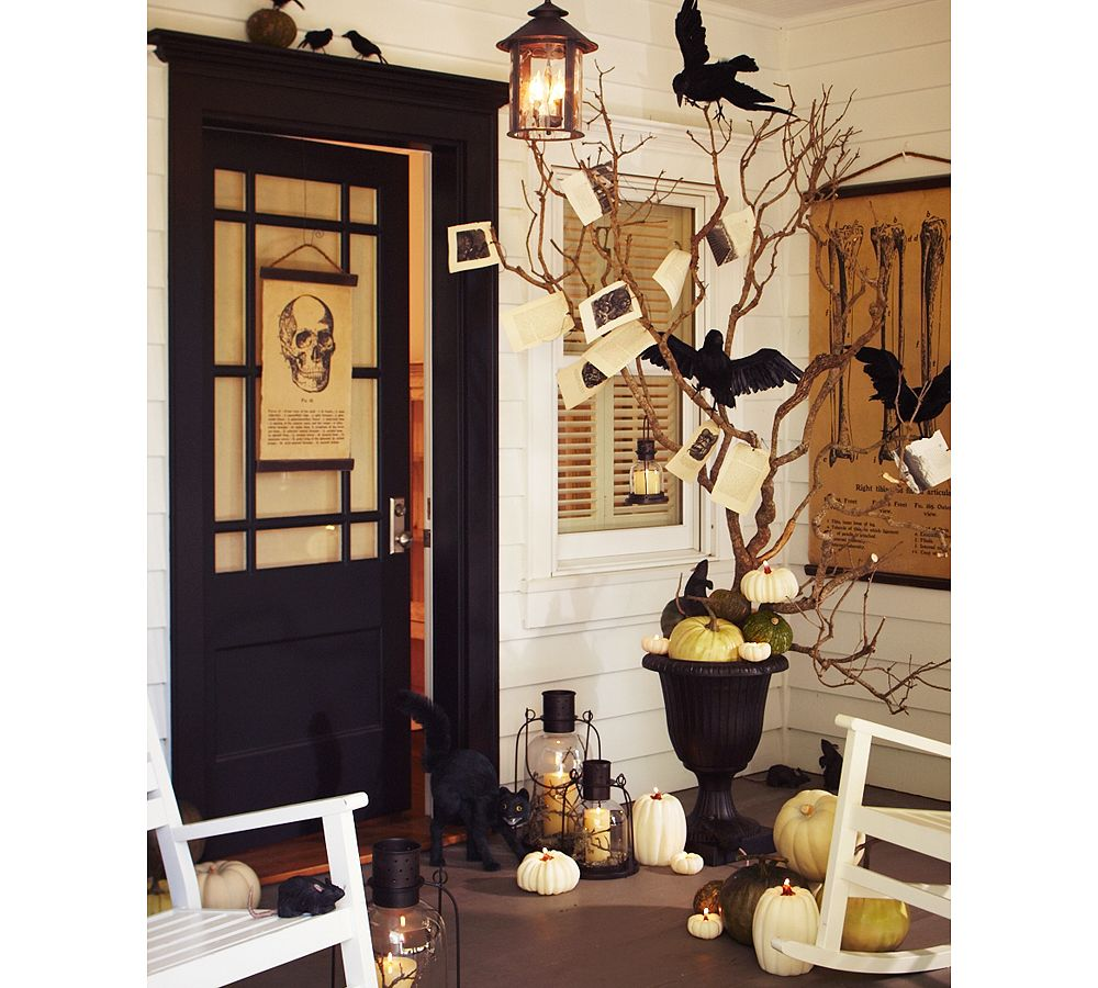 The Holiday Home: Halloween Planters