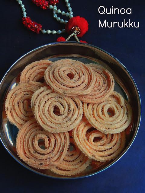 Quinoa Murukku, Quinoa Chakli.jpg