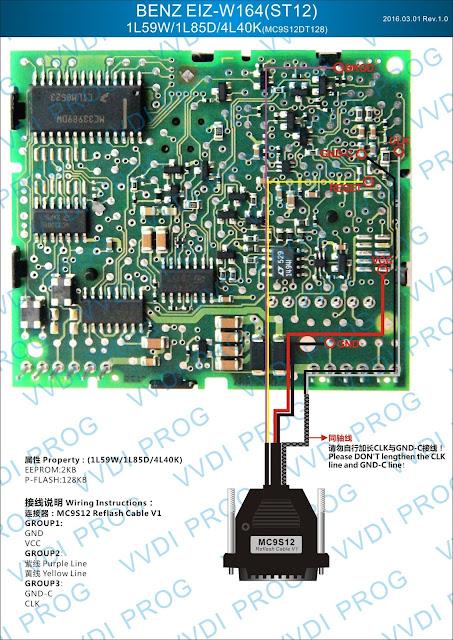 BENZ WIS W164 ST12 1L59W/1L85D/4L40K
