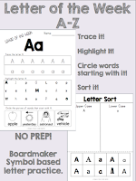 https://www.teacherspayteachers.com/Product/Letter-of-The-Week-A-Z-Complete-Pack-2049057
