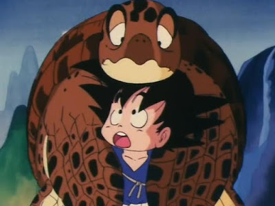 Turtle Umigame Goku Dragon Ball DB kid chibi
