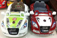 Mobil Mainan Aki Elite 2188 Audi Twin New Color 2013