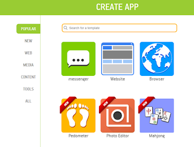 Create Android Apps for Free