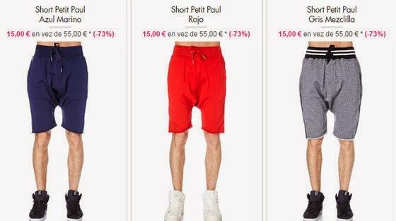 Shorts hombre 15