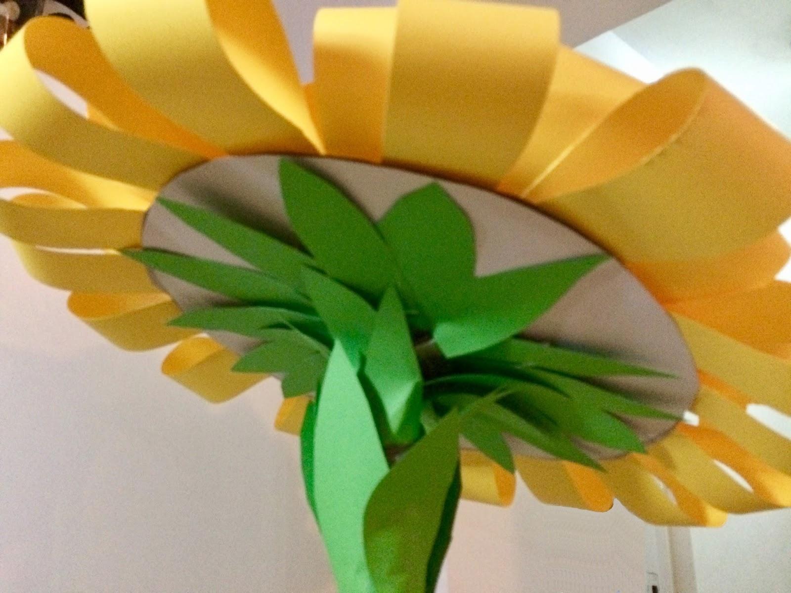 Floare gigantică pentru decor